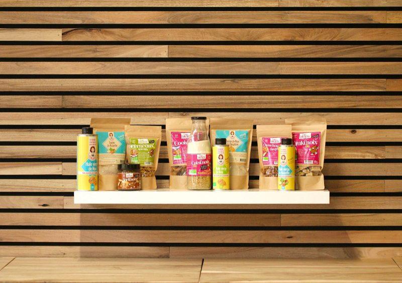 Tous nos produits comportent plus de 20% de noix !