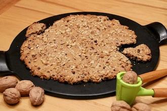 Cookie géant noix chocolat