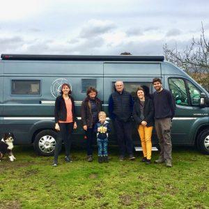 Accueil camping-car à la ferme