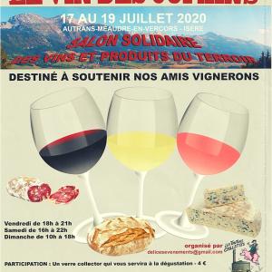 Salon Le Vin des Copains – 18 et 19 juillet 2020