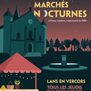 La Belle Noix aux Marchés nocturnes de Lans en Vercors