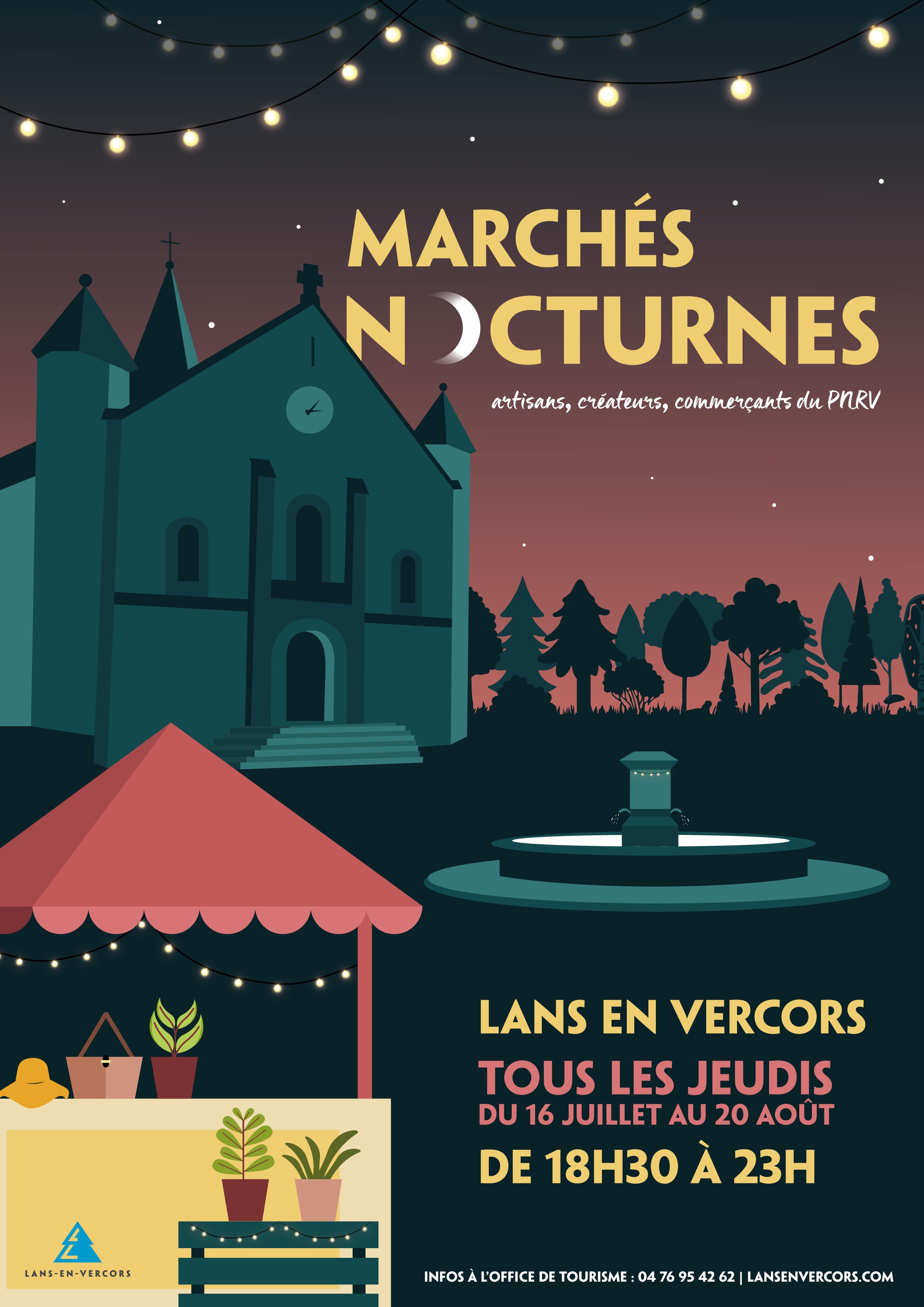 Marchés nocturnes de Lans en Vercors 2020