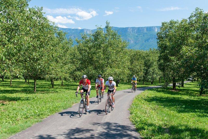 Itinéraires vélo aux alentours